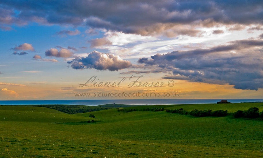 102H1 Beachy Head Sunset