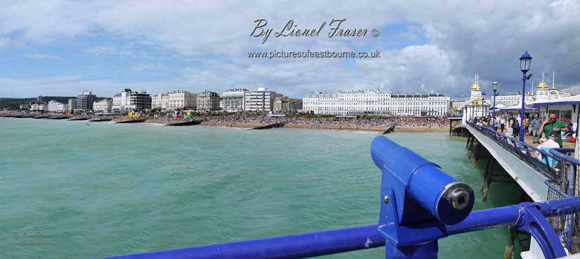 116A3 Eastbourne seafront from the pier