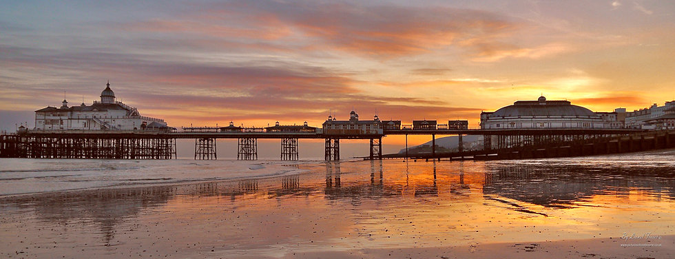 108A4  Eastbourne Pier Sunset