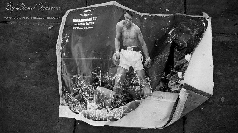 610 Muhammad Ali image screwed up on the street