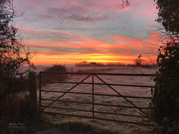 220 Sunrise Over Westham Marshes
