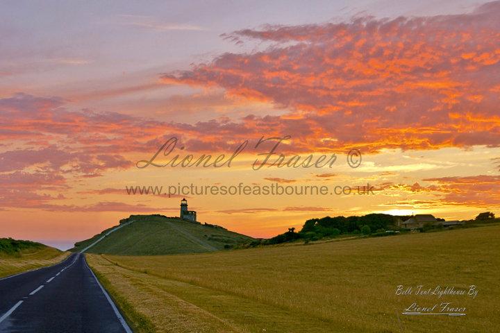 102D Belle Tout Lighthouse at Sunset
