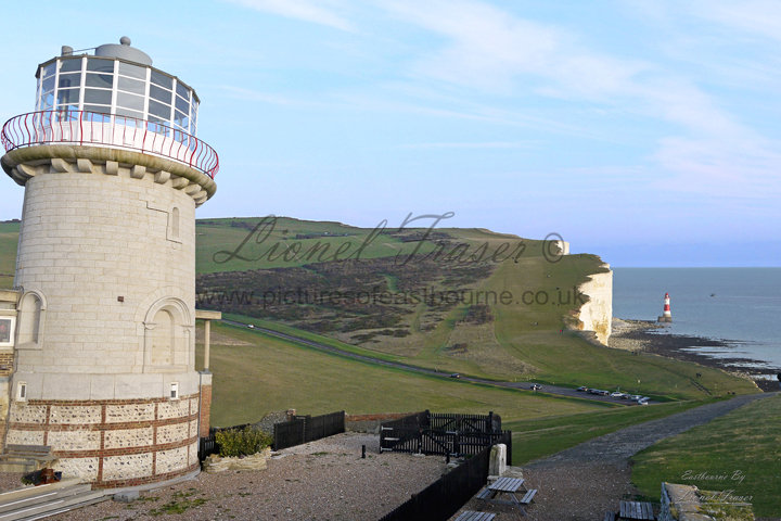 102B1 Belle Tout & Beachy Head Lighthouse in one