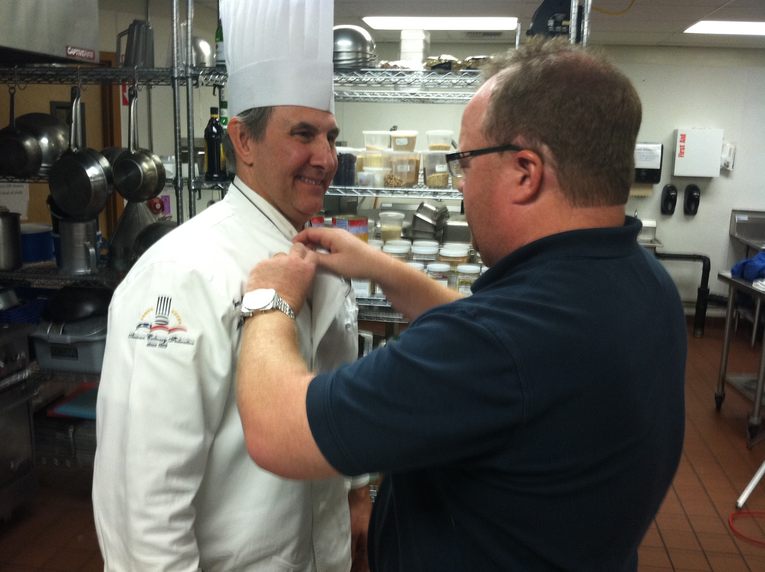 Mic'ing up Chef Jean Paul