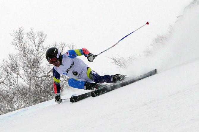 冬季アジア大会男子GS 小山陽平が金、成田秀将が銅メダル獲得