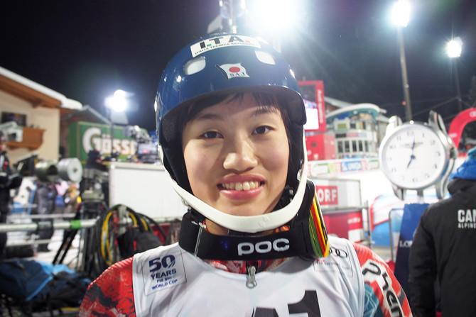 ユニバーシアード女子GSで安藤麻が優勝