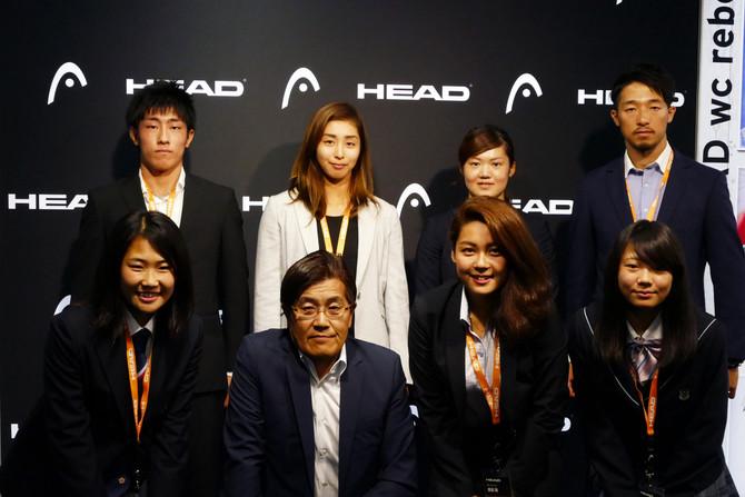 HEAD契約選手激励会