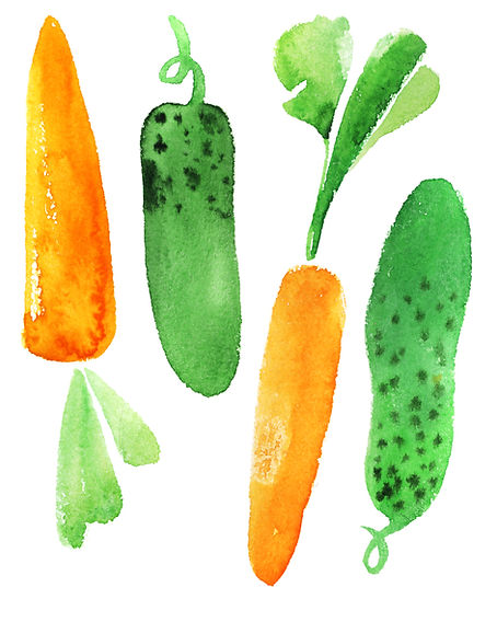 Carrots and cucumber..jpg