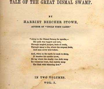 Book Review: Dred: The Great and Dismal Swamp