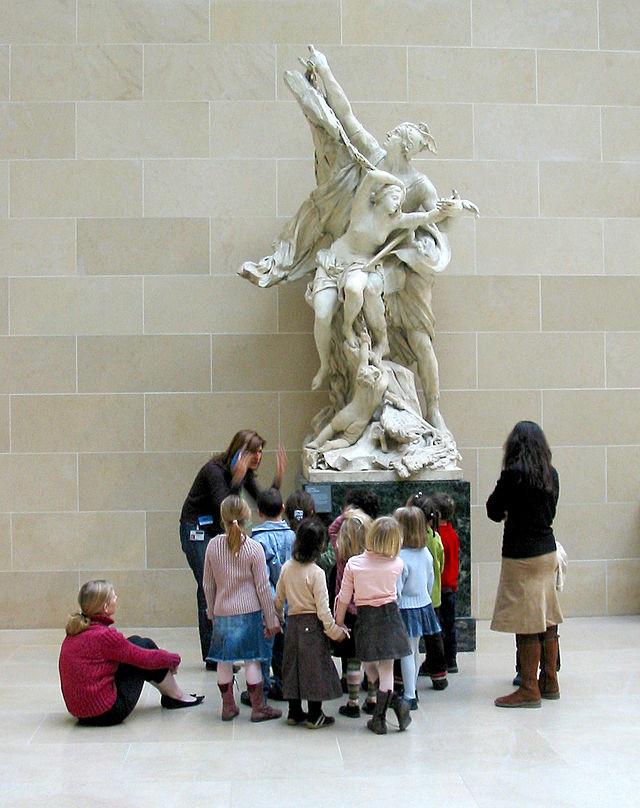 Image for Valerie M  You gotta have art School_children_in_Louvre