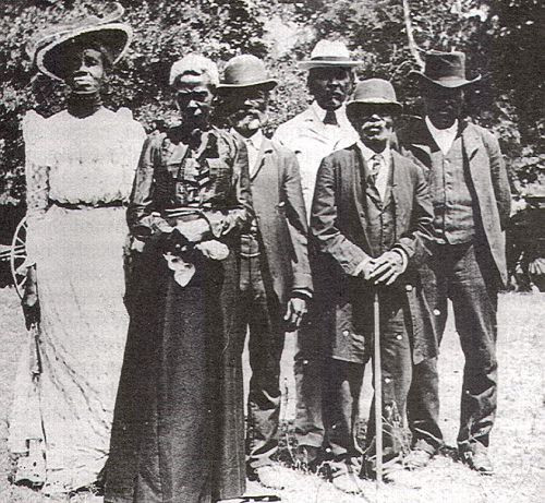 Texas Slaves Celebrating Juneteenth