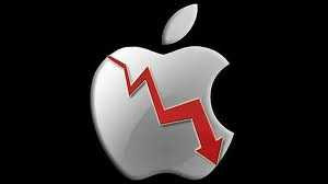 Apple Stock Continues to Slide after Disappointing Financial Report