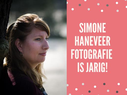 Hoera, Simone Haneveer Fotografie 1 jaar!