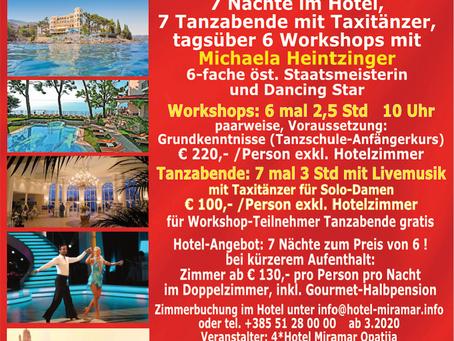 Tanzreise nach Opatija 2020