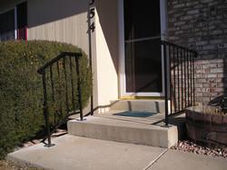 Front and Porch railing coppervien