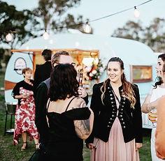Mobile Caravan Bar Wedding Melbourne