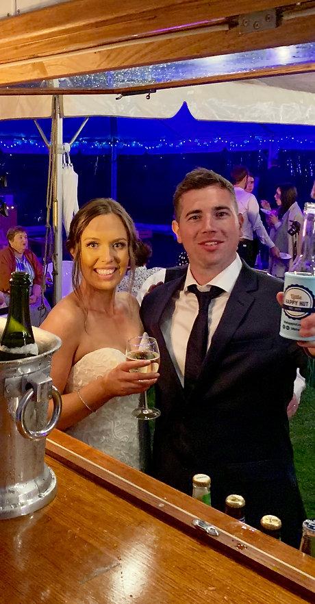 Little Happy Hut Caravan Bar Wedding Melbourne