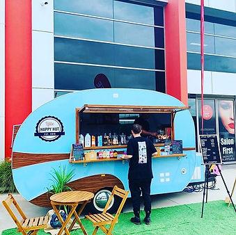 Little Happy Hut Coffee Caravan, Salon First Brand Event
