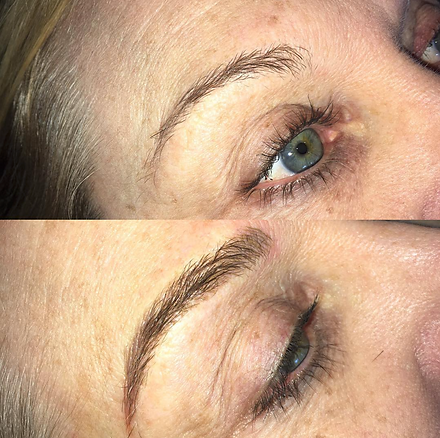 microblading before and after results