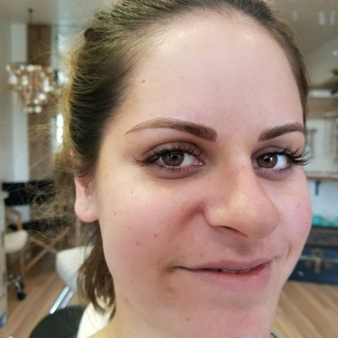 After Microblading