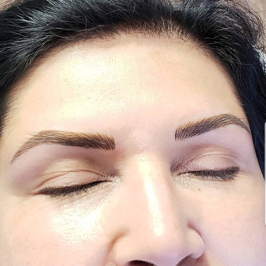After 1st Microblading Appointment