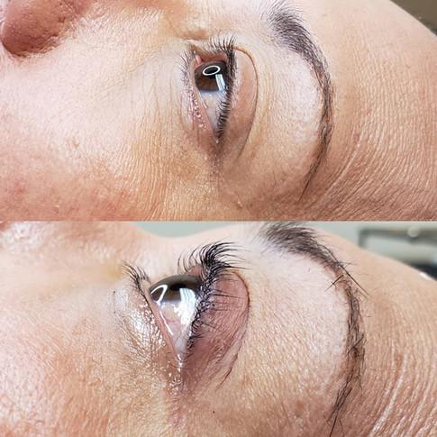 Before + After Keratin Lash Lift