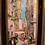 """Thumbnail: HSP Paul DAXHELET (1905-1993), """"Rue animée à Mexico"""", 40 x 20 cm"""