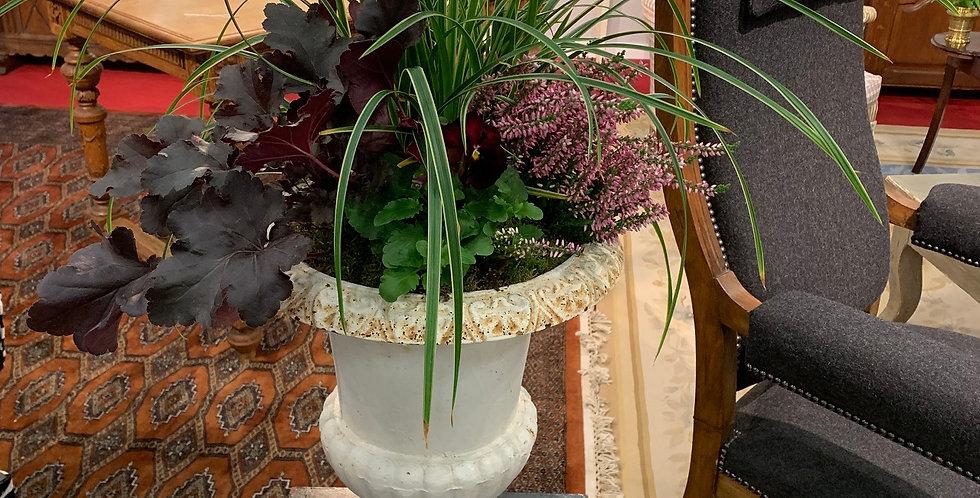 """Vase """"Medicis"""" en fonte, 19me, 45cm"""