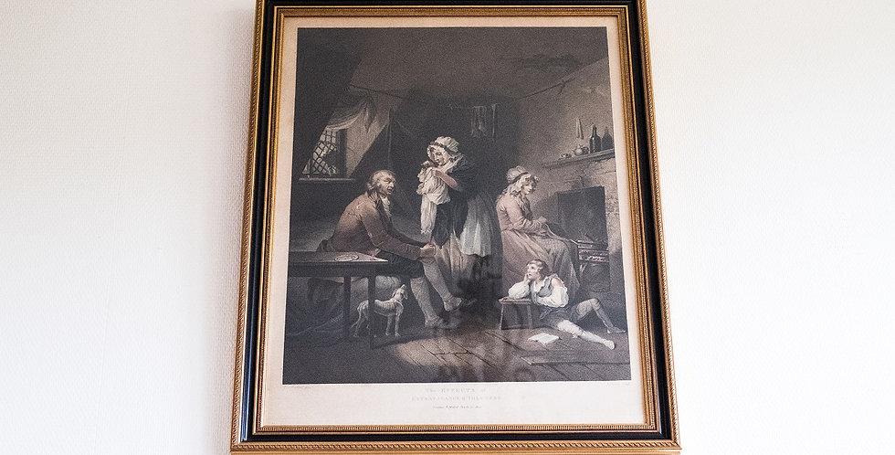 Gravure 4 de MORLAND et SINGLETON, 1800, 80 x 60 cm