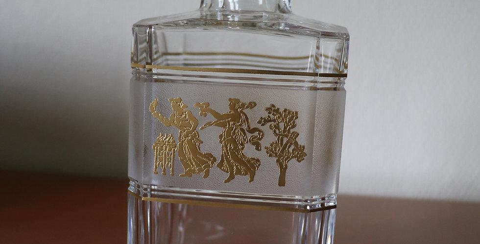 Paire de Carafes à whisky en cristal du Val St Lambert