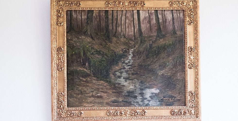 "HST Louis CLESSE, ""Ru"", 45 x 55 cm"