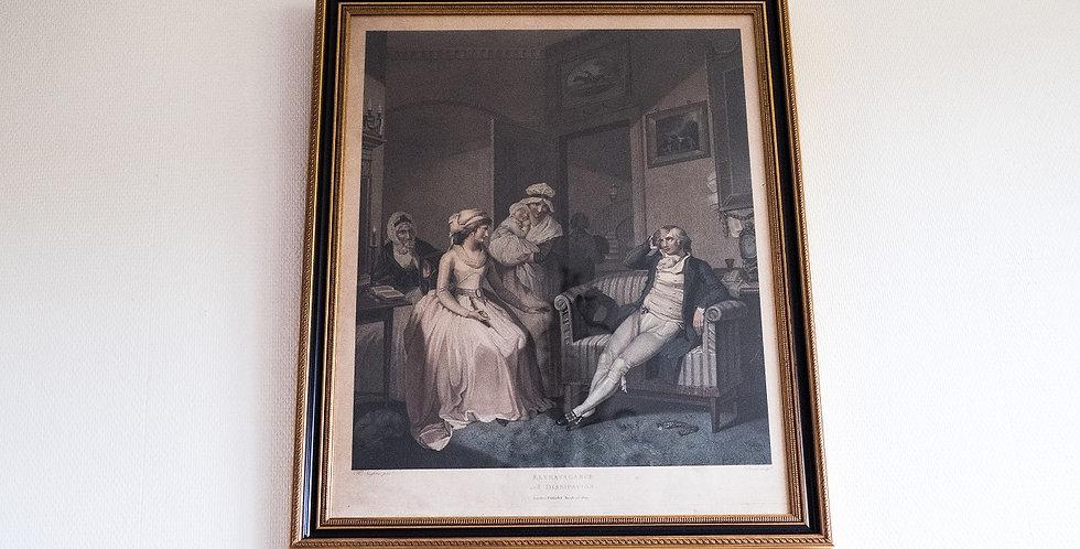 Gravure 3 de MORLAND et SINGLETON, 1800, 80 x 60 cm