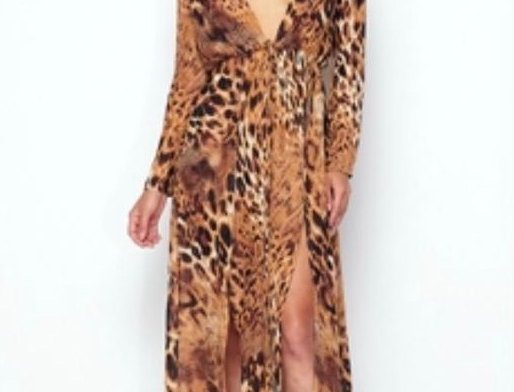 Animal Print Cover Up