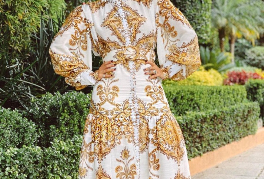 Barroco Long Dress