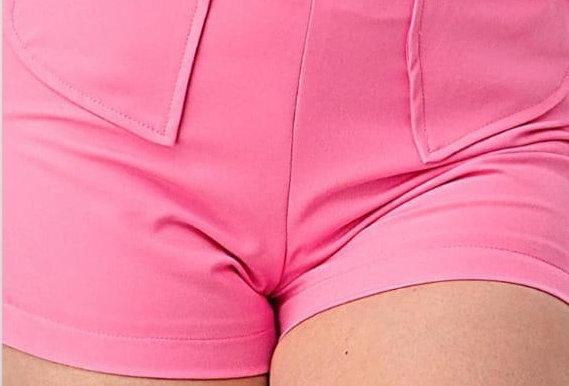 Shorts With Hearts Pockets