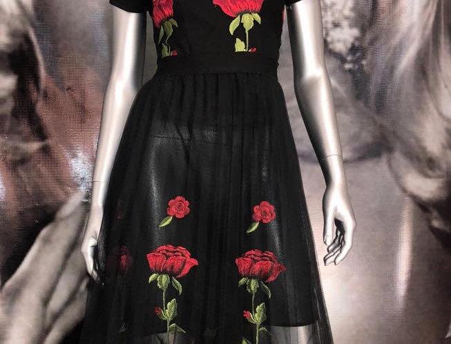 Skirt Black Set