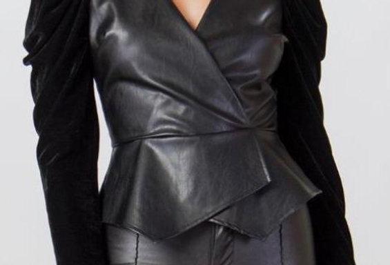 Black Sleeve Blouse