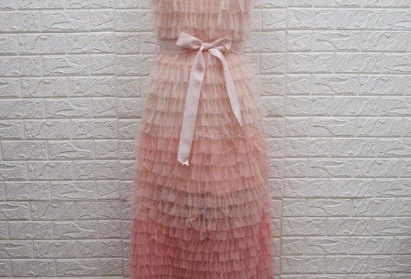 Strapless Pastel Dress