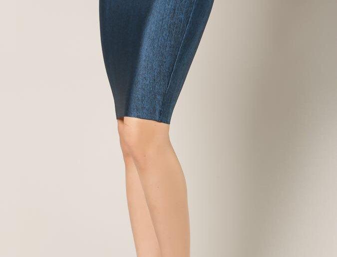 Denim Bandage Skirt