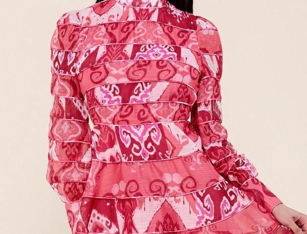Print ?Mini Dress