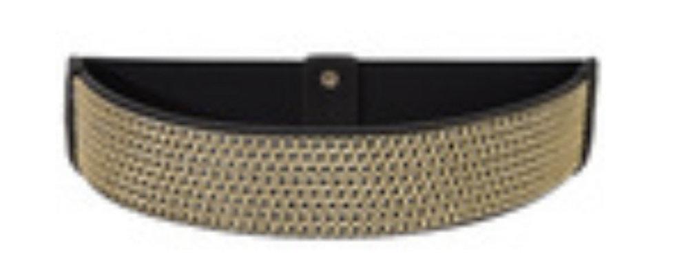 Black/Golden  Belt