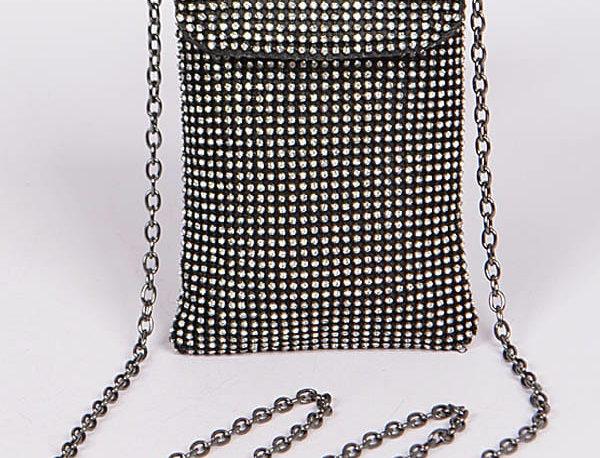 Black Crystals Bag