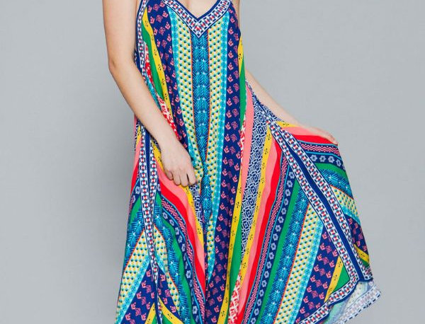 Multicolor Casual Dress