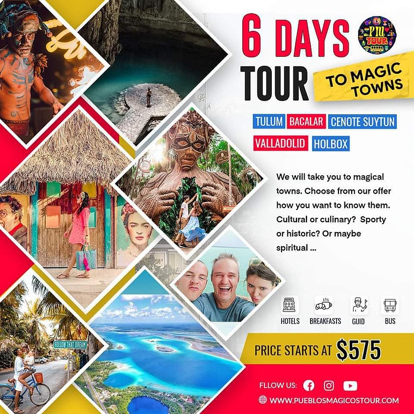 Pueblos Magicos Tour - 6 Day Tour