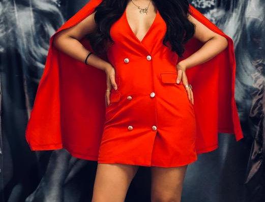 Red Dress/Coat