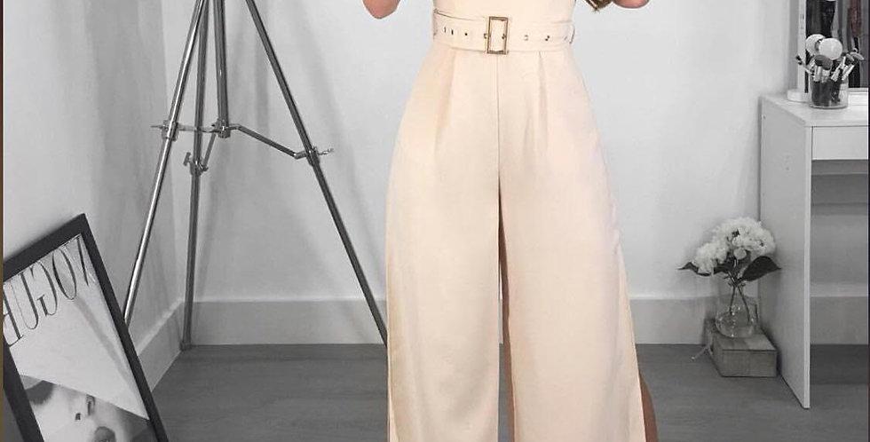 Strapless Blush Jumpsuit