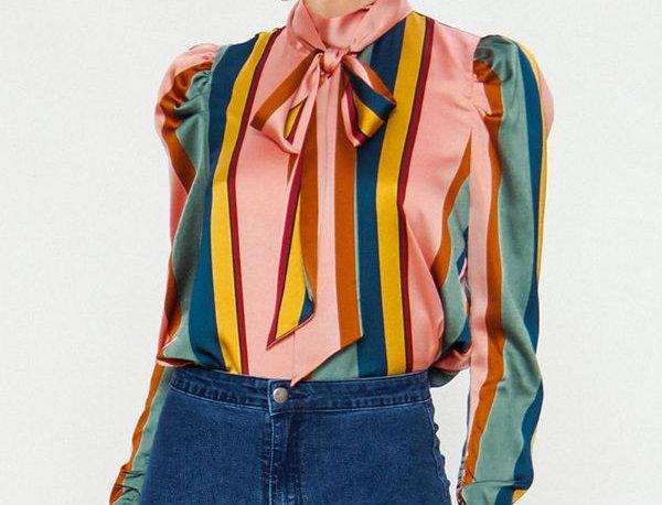 Multicolor Striped Blouse