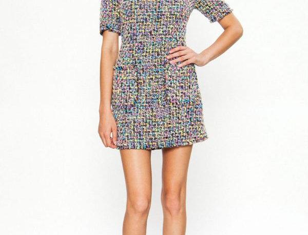 Multicolored Sleeve Dress
