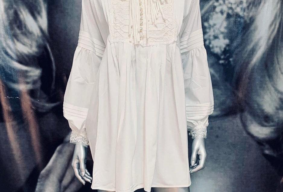 Oversize Mini Dress