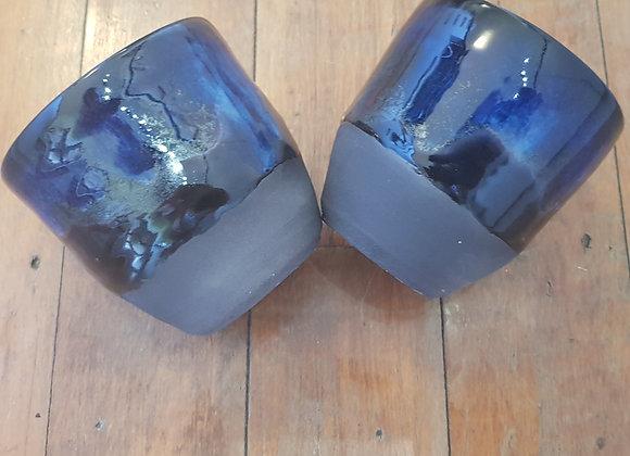 Aotearoa Southern Skies - cup pair